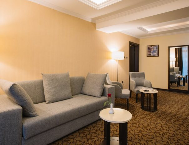 Best Western Plus Addis Ababa Suite room coach