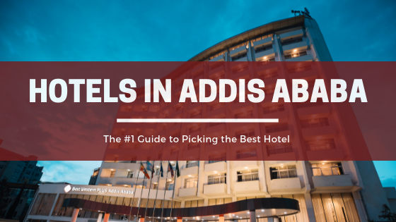 A sign that says hotels in addis ababa