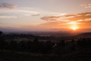 A picture of a beautiful sunrise