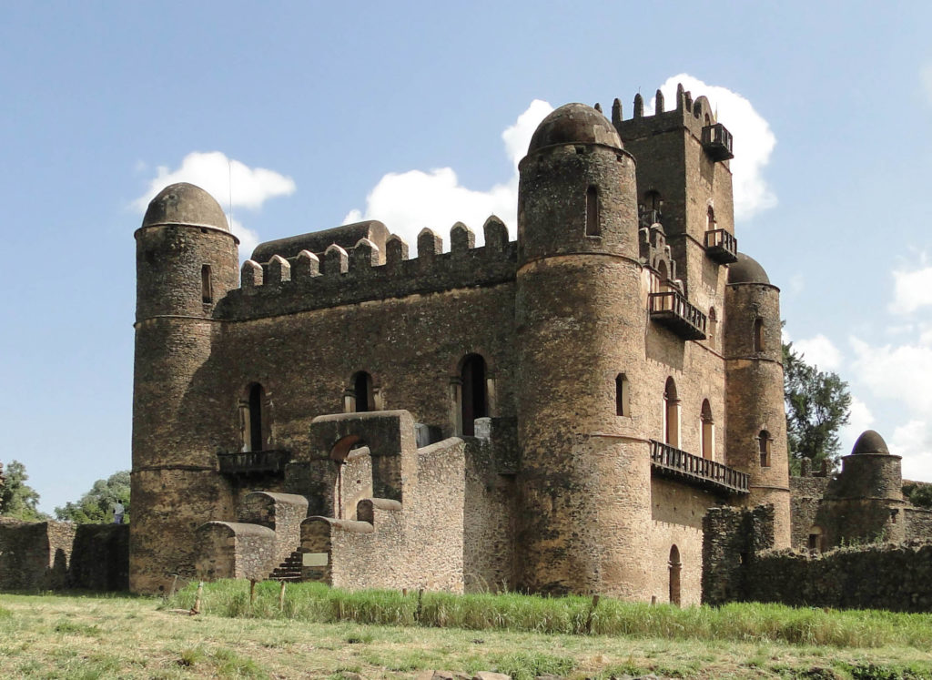 picture of Ethiopian culture of Gondar castles